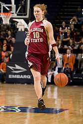 Florida St. guard Mara Freshour (10) in action against Virginia.  The Virginia Cavaliers women's basketball team defeated the Florida State Seminoles 77-58 at the John Paul Jones Arena in Charlottesville, VA on February 10, 2008.