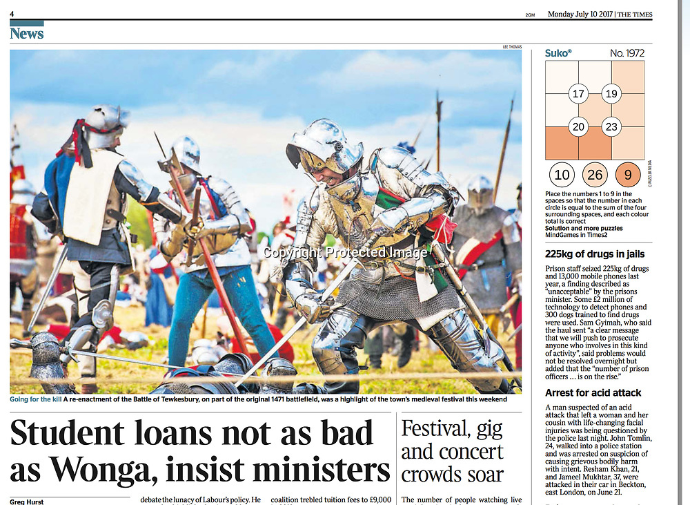 The Times - 10th July 2017