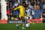 Swansea City midfielder Nathan Dyer (12) looks to release the ball  during the EFL Sky Bet Championship match between West Bromwich Albion and Swansea City at The Hawthorns, West Bromwich, England on 8 December 2019.