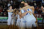 DESCRIZIONE : Venezia Additional Qualification Round Eurobasket Women 2009 Italia Croazia<br /> GIOCATORE : Team Italia<br /> SQUADRA : Nazionale Italia Donne<br /> EVENTO : Italia Croazia<br /> GARA :<br /> DATA : 10/01/2009<br /> CATEGORIA : Esultanza<br /> SPORT : Pallacanestro<br /> AUTORE : Agenzia Ciamillo-Castoria/M.Gregolin