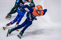 06-10-2017 NED: ISU Shorttrack WC2017, Dordrecht<br /> 1000m mannen / Sjinkie Knegt NED