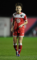 Bristol Academy Womens' Angharad James  - Photo mandatory by-line: Joe Meredith/JMP - Mobile: 07966 386802 - 13/11/2014 - SPORT - Football - Bristol - Ashton Gate - Bristol Academy Womens FC v FC Barcelona - Women's Champions League