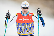 DAVOS, SCHWEIZ - 2016-12-09: Daniel Richardsson under tr&auml;ning inf&ouml;r Viessmann FIS Cross Country World Cup den 9 december, 2016 i Davos, Schweiz. Foto: Nils Petter Nilsson/Ombrello<br /> ***BETALBILD***
