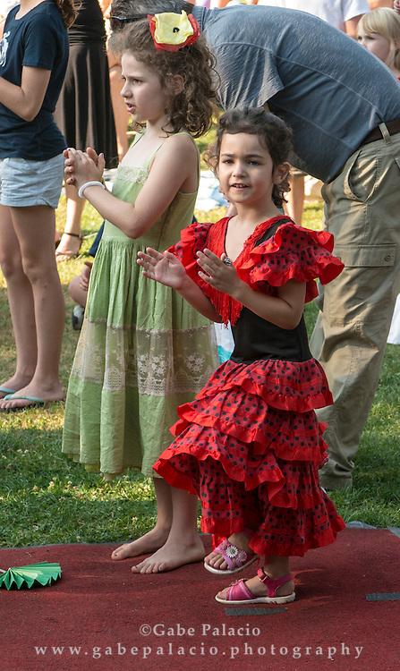 Dancing at Dusk on Friends Field at Caramoor in Katonah New York.photo by Gabe Palacio