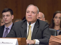 July 13, 2017 - Washington, District of Columbia, United States of America - Patrick Pizzella testifies before the United States Senate Committee on Health, Education, Labor, and Pensions on his nomination as Deputy US Secretary of Labor on Capitol Hill in Washington, DC on Thursday, July 13, 2007.Credit: Ron Sachs / CNP (Credit Image: © Ron Sachs/CNP via ZUMA Wire)