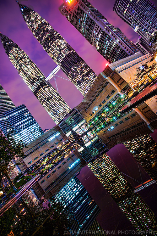 Petronas Towers & Suria KLCC, Early Morning