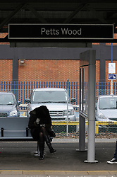 © Licensed to London News Pictures. 21/03/2013.Pettswood Train Station, South East London..Twenty five years after a young woman was stabbed to death on a train between Petts Wood to Victoria, detectives are renewing their appeals to try and catch her killer..Debbie Linsley boarded the 14:16 Orpington to Victoria train on March 23, 1988, at Petts Wood station, and entered an old fashioned compartment with room for six people and doors at each side of the carriage..Somewhere on the journey between Petts Wood and Victoria, the 26-year-old senior hotel receptionist was stabbed at least five times.Photo credit : Grant Falvey/LNP
