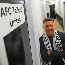 TELFORD COPYRIGHT MIKE SHERIDAN AFC Telford new signing Lee Vaughan at the New Bucks Head Stadium on Friday, June 6, 2020.<br /> <br /> Picture credit: Mike Sheridan/Ultrapress<br /> <br /> MS202021-001