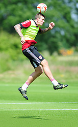 Bristol City's Aden Flint - Photo mandatory by-line: Dougie Allward/JMP - Tel: Mobile: 07966 386802 28/06/2013 - SPORT - FOOTBALL - Bristol -  Bristol City - Pre Season Training - Npower League One
