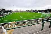 Huish Park before the Sky Bet League 2 match between Yeovil Town and Oxford United at Huish Park, Yeovil, England on 28 December 2015. Photo by Graham Hunt.