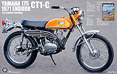 Yamaha CT1 175 1971 restoration