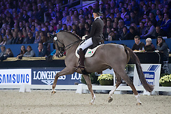 Cool Isabel, BEL, Constand<br /> CDI4 Inter Freestyle <br /> Vlaanderens Kerstjumping Memorial Eric Wauters<br /> © Dirk Caremans<br /> 27/12/2016