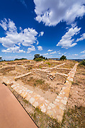 Anasazi ruins at Canyons of the Ancients National Monument, Colorado USA