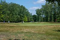 TILBURG -  hole 5 De Leij.  PRISE D'EAU GOLF, golfbaan.  COPYRIGHT KOEN SUYK