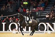 Hayley Watson Greaves - Rubins Nite<br /> Olympia Horse Show 2016<br /> © DigiShots