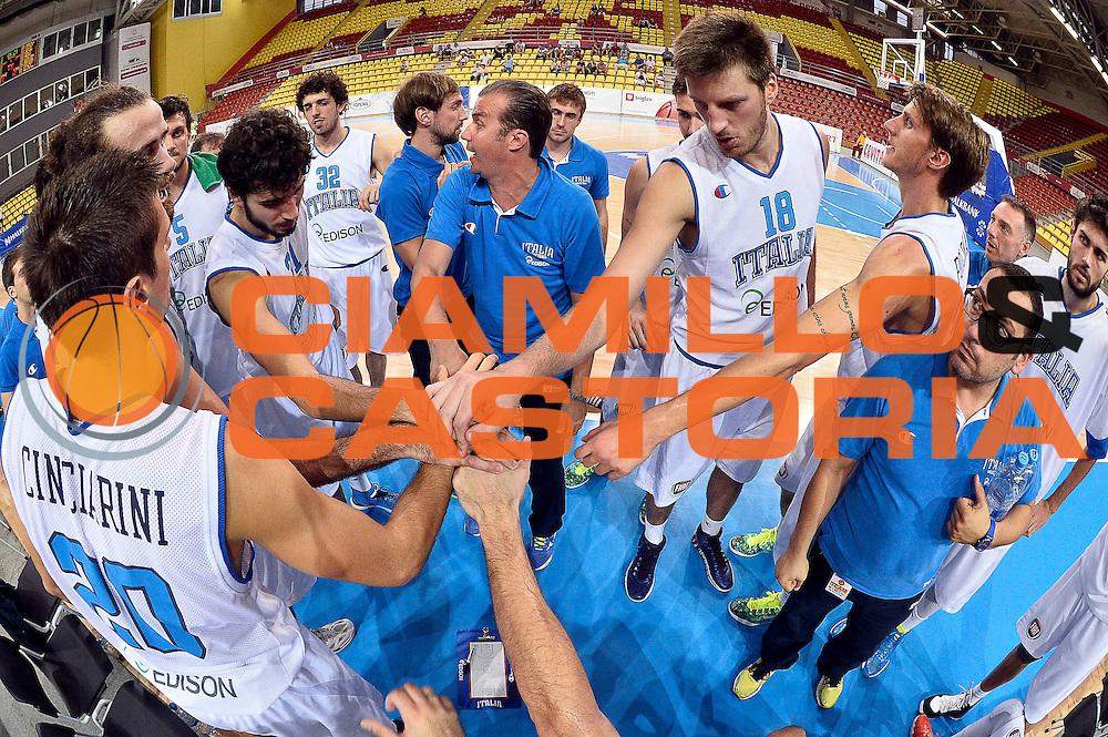 DESCRIZIONE : Skopje Nazionale Italia Uomini Torneo Internazionale di Skopje Italia Montenegro Italy Montenegro<br /> GIOCATORE : Simone Pianigiani<br /> CATEGORIA : Timeout<br /> SQUADRA : Italia Italy<br /> EVENTO : Trofeo Internazionale di Skopje<br /> GARA : Italia Montenegro Italy Montenegro<br /> DATA : 25/07/2014<br /> SPORT : Pallacanestro<br /> AUTORE : Agenzia Ciamillo-Castoria/GiulioCiamillo<br /> Galleria : FIP Nazionali 2014<br /> Fotonotizia : Skopje Nazionale Italia Uomini Torneo Internazionale di Skopje Italia Montenegro Italy Montenegro