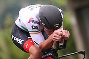 Ryan Mullen (IRL - Trek - Segafredo) during the 101th Tour of Italy, Giro d'Italia 2018, stage 16, Trento - Rovereto 34.5 km on May 22, 2018 in Italy - Photo Ilario Biondi / BettiniPhoto / ProSportsImages / DPPI