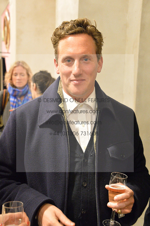 HARRY BECHER at a party to celebrate the publication of 'Inspire: The Art of Living With Nature' by Willow Crossley held at Anthropologie, 131-141 Kings Road, London on 13th March 2014.