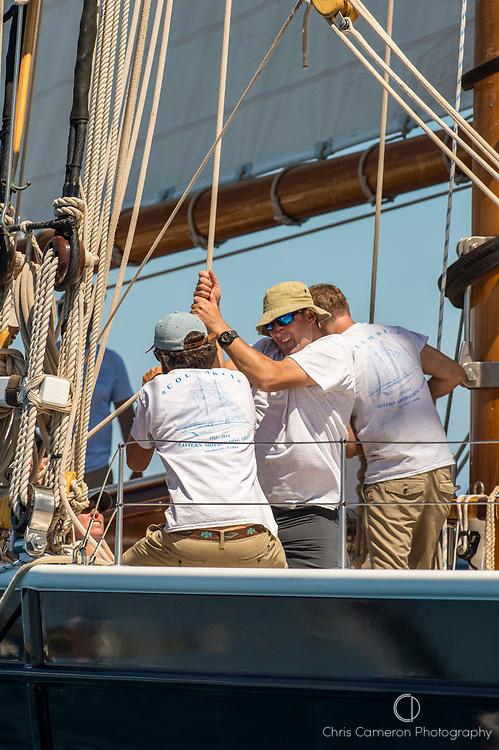 Bermuda, 14th June 2017. America's Cup Superyacht regatta. Columbia.