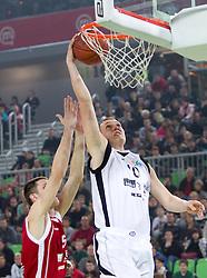 Jakob Cebasek na Dnevu slovenske moske kosarke 2010, on January 2, 2011 in Arena Stozice, Ljubljana, Slovenia. (Photo by Vid Ponikvar / Sportida.com)
