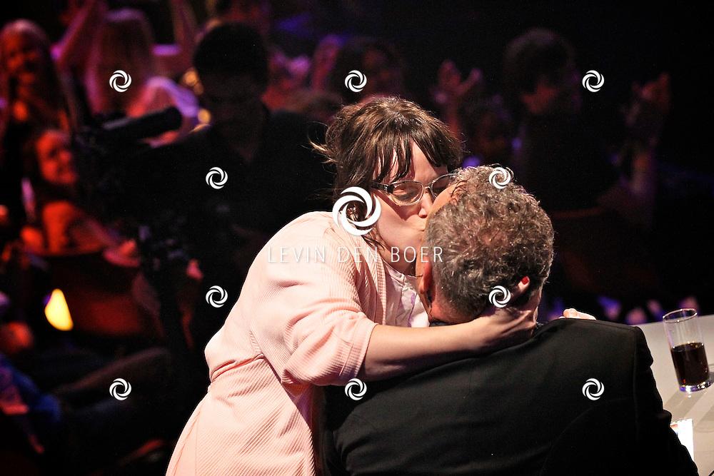 HILVERSUM - De tweede live show van Hollands Got Talent met diversen optredens. Met op deze foto  Fabienne Dallau. FOTO LEVIN DEN BOER - PERSFOTO.NU