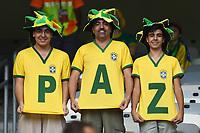 Tifosi Supporters<br /> Belo Horizonte (Brasile) 17-06-2014 Estadio Mineirao. Group H Belgium - Algeria / Belgio - Algeria Football 2014 Fifa World Cup Brazil - Campionato del Mondo di Calcio  Brasile 2014 <br /> Foto Insidefoto