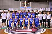 team Gran Bretagna<br /> EuroBasket Women 2017 Qualifying Round<br /> Italia - Gran Bretagna<br /> Lucca, 19/11/2016<br /> Foto Ciamillo - Castoria