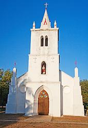 The beautiful church at Beagle Bay on the Dampier Peninsula north of Broome.