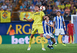 August 18, 2018 - Vila-Real, Espanha - VILA-REAL, CA - 18.08.2018: VILLARREAL CF X REAL SOCIEDAD - Daniel Raba of Villarreal CF during the La Liga match between Villarreal CF and Real Sociedad at La Ceramica Stadium on August 18, 2018 in Vila-real, Spain. (Credit Image: © Maria Jose Segovia/Fotoarena via ZUMA Press)