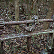 Machinery near Sieben Ruins, St John, USVI