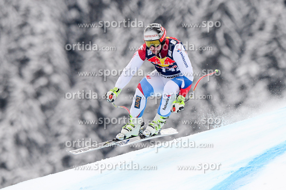 20.01.2015, Streif, Kitzbuehel, AUT, FIS Ski Weltcup, Abfahrt, Herren, 1. Training, im Bild Beat Feuz (SUI) // Beat Feuz of Switzerland in action during first practice run for the mens Downhill of Kitzbuehel FIS Ski Alpine World Cup at the Streif Course in Kitzbuehel, Austria on 2015/01/20. EXPA Pictures © 2015, PhotoCredit: EXPA/ Johann Groder