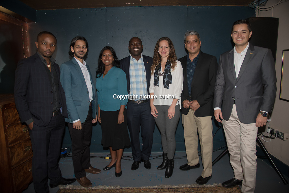 Olivier Nsengimana from Rwanda,Shahriar Caesar Rahman from Bangladesh, Anjali Chandraraj Watson from Sri Lanka, Dominique Bikaba from Democratic Republic of the Congo,Kerstin Forsberg from Peru,Munir Virani from Kenya and Pablo Borboroglu from Argentina the Seven inspirational conservationists for their outstanding efforts to protect some of the world's most endangered animals and their habitat from Pooches, trophy hunting, medicine and food consumption. the goal for Whitley Fund for Nature is to reach the mind of the people and politicians on 26 April 2018 at Library in  London, UK.