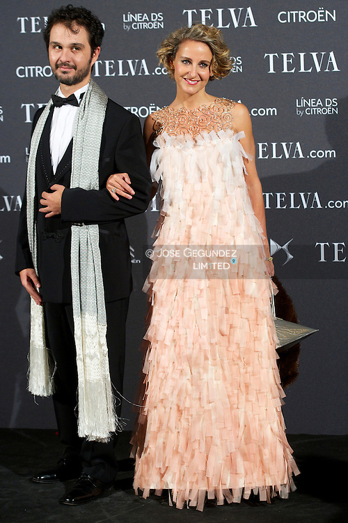 Carla Royo Villanova attends Telva Awards 2012 at Hotel Palace on November 6, 2012 in Madrid, Spain