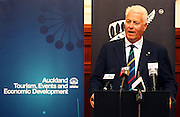 President of World Masters Games, Kai Holm. Press conference to announce Auckland, New Zealand as the host city for the 2017 World Masters Games. Auckland Town Hall Councillors Chambers, Auckland. 15 March 2012. Photo: William Booth/photosport.co.nz