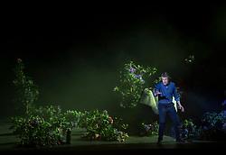 07.04.2019, Grosses Festspielhaus, Salzburg, AUT, Salzburger Osterfestspiele, Fotoprobe, Die Meistersinger von Nürnberg (Oper von Richard Wagner), im Bild Georg Zeppenfeld als Hans Sachs // during the rehearsal of the opera the Mastersingers of Nuremberg (Opera by Richard Wagner). The Salzburg Easter Festival takes place from 13 April to 23 April  2019, at the Grosses Festspielhaus in Salzburg, Austria on 2019/04/07. EXPA Pictures © 2019, PhotoCredit: EXPA/ Ernst Wukits