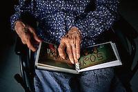 1990s, France --- Hands of Elderly Woman --- Image by © Owen Franken/CORBIS