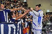 Dane Diliegro, Commando Ultra' Dinamo<br /> Banco di Sardegna Dinamo Sassari - Angelico Biella<br /> Legabasket Serie A Beko 2012-2013<br /> Sassari, 30/09/2012<br /> Foto L.Canu / Ciamillo-Castoria