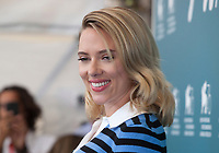 Scarlett Johansson at the photocall for the film Marriage Story at the 76th Venice Film Festival, on Thursday 29th August 2019, Venice Lido, Italy.