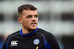 Zach Mercer of Bath Rugby looks on during the pre-match warm-up - Mandatory byline: Patrick Khachfe/JMP - 07966 386802 - 24/08/2018 - RUGBY UNION - The Recreation Ground - Bath, England - Bath Rugby v Scarlets - Pre-season friendly