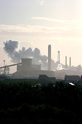 UK ENGLAND REDCAR 30MAY06 - Corus Steel Blast Furnace near Redcar, northern England. ..jre/Photo by Jiri Rezac..© Jiri Rezac 2006..Contact: +44 (0) 7050 110 417.Mobile:  +44 (0) 7801 337 683.Office:  +44 (0) 20 8968 9635..Email:   jiri@jirirezac.com.Web:    www.jirirezac.com..© All images Jiri Rezac 2006 - All rights reserved.