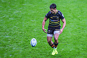 Tom Collins, Wing (Northampton) during The Derby Rugby match between Northampton Saints and Leicester Tigers at Twickenham Stadium, Middlesex, United Kingdom on 6 October 2018.