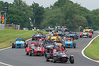 #43 James TUBBY Caterham R400  during CSCC Gold Arts Magnificent Sevens  as part of the CSCC Oulton Park Cheshire Challenge Race Meeting at Oulton Park, Little Budworth, Cheshire, United Kingdom. June 02 2018. World Copyright Peter Taylor/PSP.