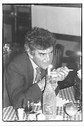 Anthony Bland, party SE1 3/02/87© Copyright Photograph by Dafydd Jones 66 Stockwell Park Rd. London SW9 0DA Tel 020 7733 0108 www.dafjones.com
