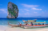 Thailande - <br /> Krabi province<br /> Ko Poda (poda island)
