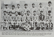 All Ireland Senior Hurling Championship - Final,.04.09.1983, 09.04.1983, 4th September 1983,.Kilkenny 2-14, Cork 2-12,.Kilkenny v Cork, .04091983AISHCF,.Minor Dublin v Galway,.Back row, Paul Confrey, Mark Hayes, John Paul Byrne, Sean Young, John Murphy captain, Niall O'Carroll, Tomas O'Riardain, Paul Williams, front row, Bobby Collins, Desie Byrne, Shay Cullen, Shane Dalton, Des Foley, Eamonn Clancy, Niall Quinn, .