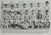 All Ireland Senior Hurling Championship - Final,.04.09.1983, 09.04.1983, 4th September 1983,.Kilkenny 2-14, Cork 2-12,.Kilkenny v Cork, .04091983AISHCF,.Minor Dublin v Galway,.Back row, Paul Confrey, Mark Hayes, John Paul Byrne, Sean Young, John Murphy captain, Niall O'Carroll, Tomas O'Riardain, Paul Williams, front row, Bobby Collins, Desie Byrne, Shay Cullen, Shane Dalton, Des Foley, Eamonn Clancy, Niall Quinn, .