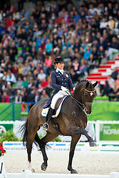 Tinne Vilhelmson Silfven, (SWE), Don Auriello - Grand Prix Special Dressage - Alltech FEI World Equestrian Games™ 2014 - Normandy, France.<br /> © Hippo Foto Team - Leanjo de Koster<br /> 25/06/14