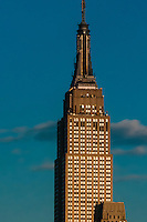 Empire State Building, New York, New York USA.