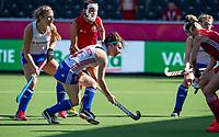ANTWERP - BELFIUS EUROHOCKEY Championship.  women  England v Belarus (4-3) . Laura Unsworth (Eng) scores. WSP/ KOEN SUYK