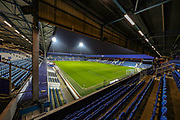General view inside the Kiyan Prince Foundation Stadium ahead of the The FA Cup match between Queens Park Rangers and Sheffield Wednesday at the Kiyan Prince Foundation Stadium, London, England on 24 January 2020.